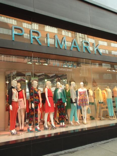 A trip to Primark is a must for budget fashion shoppers in London