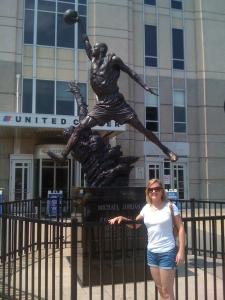 United Center - where the Bulls play