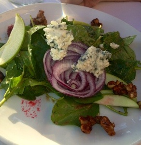 Baby Spinach Salad $9