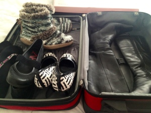 boots packed