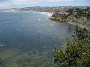La Jolla Bay, photo taken by Tom Courtney