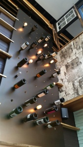 Little Italy Prep Kitchen Wine Wall