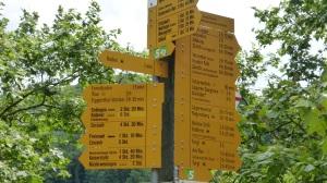 Baden Street signs