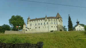 Castle from train