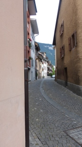 tiny alley street